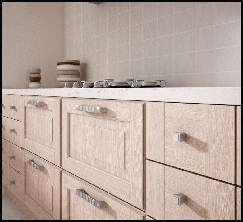 Cocina roble decap for Muebles de cocina roble