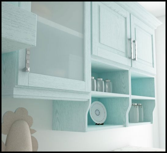 Cocina Clásica ESTELA ROBLE - Muebles DOFER
